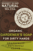 Whidbey Island Natural Gardener's Soap Bar - Patchouli Grapefruit Clove