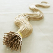 Hot!high Quality 100% Remy Human Hair Extensions Body Wave I-tip Hair Extension 18-60cm (1g/s) 100g 100 Strands (#613 Blonde)