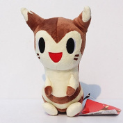 22cm Pokemon Plush Furret Doll Plush Anime Doll Stuffed Animals Cute Soft Collection Toy Best Gift for Kids