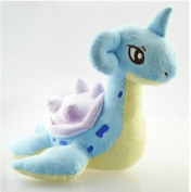 28cm Pokemon Plush Lapras Doll Plush Anime Doll Stuffed Animals Cute Soft Collection Toy Best Gift for Kids