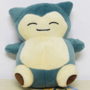15cm Pokemon Plush Snorlax Plush Anime Doll Stuffed Animals Cute Soft Collection Toy Best Gift for Kids