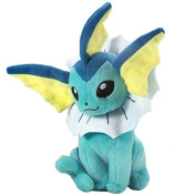 17cm Pokemon Plush Vaporeon Plush Anime Doll Stuffed Animals Cute Soft Collection Toy Best Gift for Kids