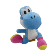 15cm Super Mario Bros Blue Yoshi Plush Anime Doll Stuffed Animals Cute Soft Collection Toy Best Gift for Kids