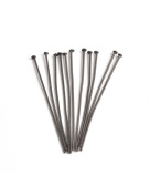 FreshHear Pack of 285 Colour BlackHead Pins for Jewellery Making Size30x0.7x0.7