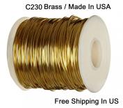 Modern Findings 16 Ga Red Brass Wire Dead Soft 38m / C230 Brass