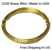 Modern Findings 16 Ga Red Brass Wire Dead Soft 8.2m / C230 Brass