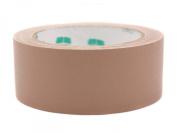 2.5cm - 1.3cm Tan Coloured Premium-Cloth Book Binding Repair Tape   15 Yard Roll