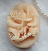 Creativemoldstore 1pcs 7x5.2x3.4cm Rose Mould (zx535) Craft Art Silicone Soap Mould Craft Moulds DIY Handmade Soap Mould