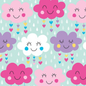 The Giftwrap Company 51-9451 Happy Clouds 80cm x 1.5m Gift Wrap