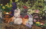 Bunny Fun - Fibre Trends Knitting & Felting Pattern FT203