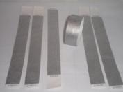 100 Silver Tyvek Wristbands