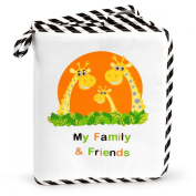 NEW! Baby's My Family & Friends First Photo Album - Cute Giraffe Family Theme!