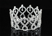 Exquisite Rhinestones Crystal Photo Prop Baby Tiara Crown
