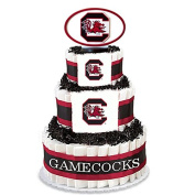 Collegiate Nappy Cakes - Baby Gifts for the Sports Fan--College Themed Nappy Cakes Featuring Your School Logo