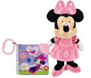 Disney Minnie Mouse Soft Teething Book & Plush Toy Set