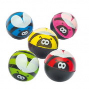 Bee High Bounce Jet Balls for Children Assorted Colours Perfect Party Bag Filler