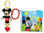 Disney On-The-Go Musical Toy with Teething Book, Mickey Mouse