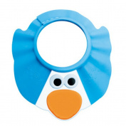 Baby Adjustable Shower Shield - Blue / Red