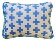 New Arrivals Uptown in Electric Blue Accent Pillow