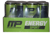 MusclePharm Energy Sport 350ml Cans Electric Lime