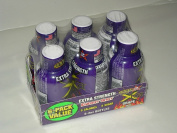 6 Pack STACKER 2 Xtra Extra Strength Energy Shot Grape Flavour 6-60ml