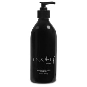 Lubricant - Personal Water Based Lube for Men, Women - Nooky Lubes 950mlTM natural liquid silk lubricants Made in USA. No Risk Guarantee