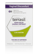Terrasil Rapid-Relief Vaginal Ointment - Plus Medicated Cleansing Bar - 25g Tube + 1 Cleansing Bar