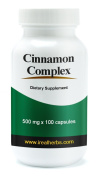 Cinnamon Complex X 100 Capsules - All the Benefits of Cinnamon, Concentrated in Capsule Form