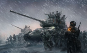 60cm x 36cm Company of Heroes 2 Silk Poster 2GSC-2B7