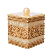 Royal Style Cotton Ball and Swab Holder