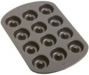 Wilton Nonstick 12-Cavity Mini Donut Pan, New