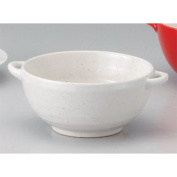Soup Cup utw673-28-504 [13cm x 6.4cm 500ml] Japanece ceramic Heavy pot with Simple Life ear tableware