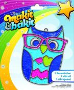 Makit & Bakit Suncatcher Kit-Owl