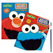 Sesame Street Paint With Water Books with Paint Brush