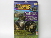 Pumpkin Masters Pumpkin Crackling Paint Kit with Real Crackle Effect Black
