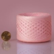 Pink Paper Raffia Ribbon 0.6cm x 100 yards