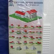 California Mission Model Kit San Luis Obispo Mission