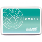 Hero Arts Ombre Ink Pad, Mint To Green