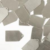 ImpressArt, Tag, 2.2cm , Aluminium Stamping Blanks- 24 pc.
