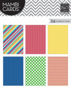 me & my BIG ideas Pocket Pages Mambi Cards, Primary
