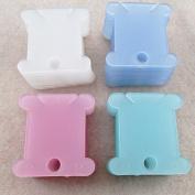 100PCS EveryOne-Buy Plastic Embroidery Floss & Craft Thread Bobbins Storage Holder