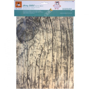 BARC Wood Sheet W/Adhesive Backing 22cm x 28cm -Rustic White Birch
