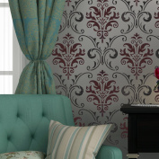 J BOUTIQUE STENCILS Wall Stencil Pattern Damask Allover Reusable Carol for Wall Decor and More