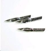 Nikko Managa Pen Nib N-Saji Chrome - 3pc