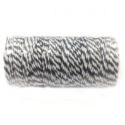 Wrapables 12-Ply Cotton Baker's Twine, 110-Yard, Black