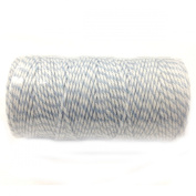 Wrapables 12-Ply Cotton Baker's Twine, 110-Yard, Blue Grey