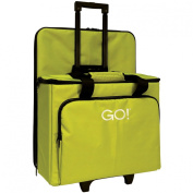 AccuQuilt GO! Multi-Purpose Rolling tote with Die Bag in Green