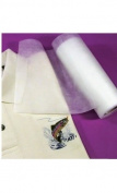 No-Show Poly-Mesh Plus Machine Embroidery Stabiliser Backing Cut Away 50cm x 50 Yards Roll