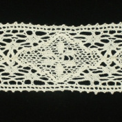 5 yards of Ivory Cotton Torchon Lace Trim Cotton Ribbon Trim Decoration Ribbon trim fabric Millinery accent motif for baby headband hair accessories dress accessories by Annielov trim #156