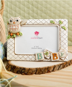 Baby Owl Picture Frame Horizontal 3d (20cm X 15cm Holds a 15cm X 10cm Picture) From Gifts By Fashioncraft